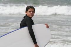 Surfareflicka Royaltyfri Fotografi