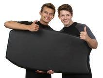Surfaregrabbar Royaltyfri Fotografi