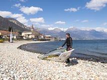Surfaregyckel i en dag av Breva Fotografering för Bildbyråer