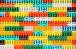 Surfase pełno Kolorowi Zabawkarscy projektantów kawałki zdjęcie royalty free