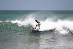 surfboard игры человека Стоковое Изображение RF