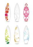 surfboard собрания иллюстрация вектора