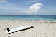 Surfboard on Beach Stock Photos