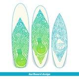 Surfboard Design Alchemical Bottle Royalty Free Stock Photo