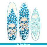 Surfboard Design One Stock Photography