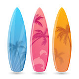 Surfboard Designs Royalty Free Stock Photos