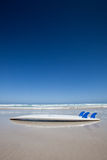 Surfboard na plaży Australia Fotografia Royalty Free