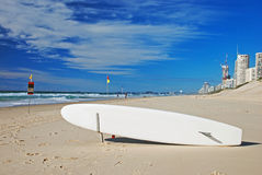 Free Surfboard On The Beach Royalty Free Stock Photo - 21151785