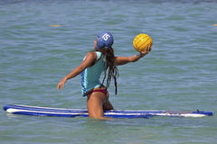 Surfboard polo Royalty Free Stock Images