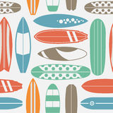 Surfboard Seamless Pattern Royalty Free Stock Photography