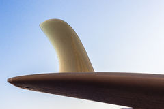 Surfboard Single Fin Large Detail Stock Photos