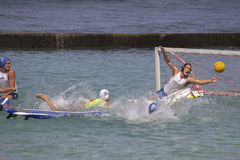 Surfboard Water Polo Royalty Free Stock Photography