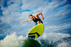 Surfboarder Royalty Free Stock Image