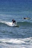 SURFBOARDING KA ANAPALI SHORE Royalty Free Stock Photos