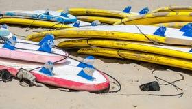Surfboards obrazy stock