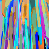 Surfboards Abstract. Original art abstract, colors and shapes suggesting surf and water, soft , smooth variety Stock Photo