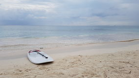 Surfboards on the beach. In Mexico Royalty Free Stock Photo