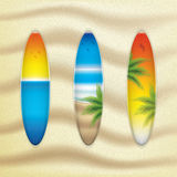 Surfboards Royalty Free Stock Photo