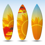 Surfboards Design Stock Image