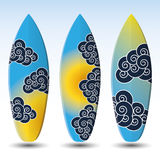 Surfboards Design Royalty Free Stock Photography