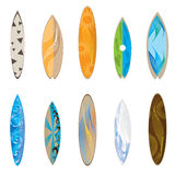 Surfboards,  illustration Stock Photos