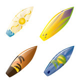 Surfboards Royalty Free Stock Images