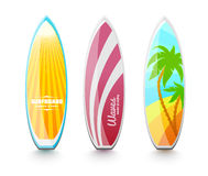 Surfboards for surfing Royalty Free Stock Photography