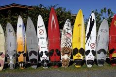 SURFBORDS Royalty-vrije Stock Afbeeldingen