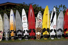 SURFBORDS Royalty Free Stock Images
