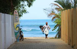 SurfBoy immagini stock