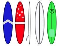 Surfbrett konzipiert Muster Lizenzfreies Stockfoto