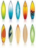 Surfbretter lizenzfreie abbildung