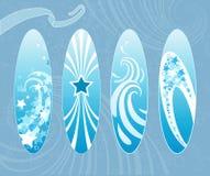 Surfbretter. Stockbild