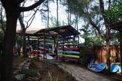 Surfcamp Стоковые Изображения RF