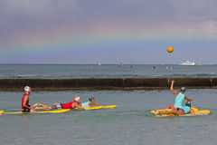 Surfe o polo Imagens de Stock Royalty Free