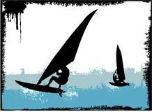 Surfen lizenzfreie abbildung