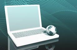 Surfen des Internets Lizenzfreie Stockfotos