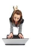 Surfen des Internets Lizenzfreies Stockfoto