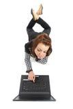 Surfen des Internets Lizenzfreie Stockfotografie