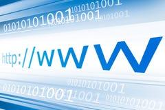 Surfen des Webs Lizenzfreie Stockbilder