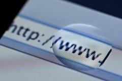 Surfen des WWW Stockfotografie