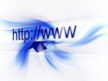 Surfen Sie das Welt-HTTP Stockbilder