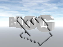 Surfen Sie den Blog Stockfoto