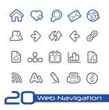 Surfen Sie die Netto-//-Linie Reihe Lizenzfreie Stockbilder