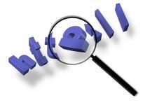 Surfen Sie und suchen Sie das Welt-HTTP Stockbild