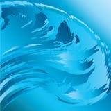 Surfende Welle Stockbild