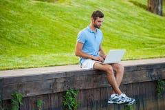 Surfendes Netz, wohin er wünscht Lizenzfreie Stockfotos