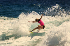 Surfendes Quiksilver u. Roxy Pro World Title Event Stockfotos