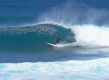 surfer εφηβικός σωλήνας Στοκ Εικόνα