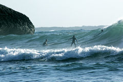 Surfer στη Σαρδηνία Στοκ φωτογραφία με δικαίωμα ελεύθερης χρήσης